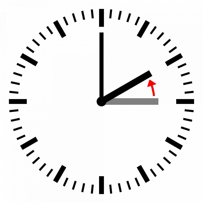 Uhrzeit wird auf Winterzeit umgestellt