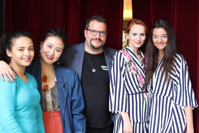Dominik Wachta war 2018 als Line Producer für eine Vogue Produktion sowie als Fotograf in Paris.