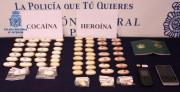 1 Kilo Kokain und Heroin sicher gestellt