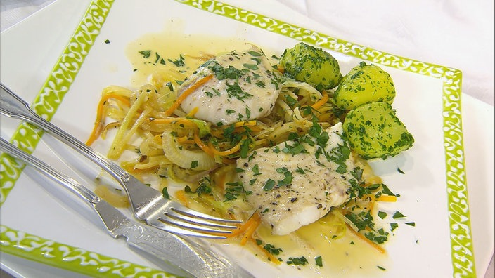 Gemüsebett für Fisch