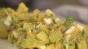 Kartoffelsalat mit Eiersoße