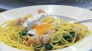 Pasta mit Garnelen und Chili