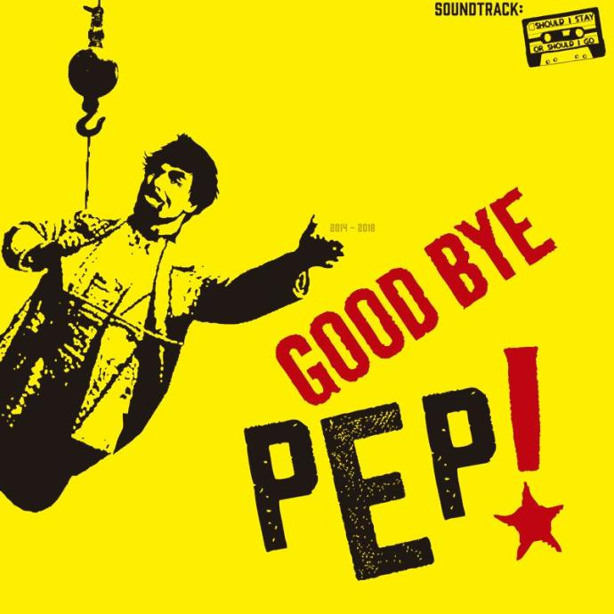 Good bye Pep!