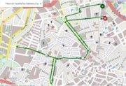 Verkehrseinschränkungen in Palma