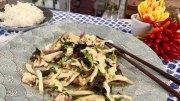 Hähnchen mit Chinakohl aus dem Wok