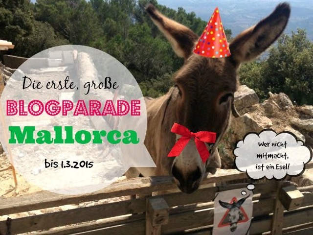 Lustiger Aufruf zur Blogparade Mallorca