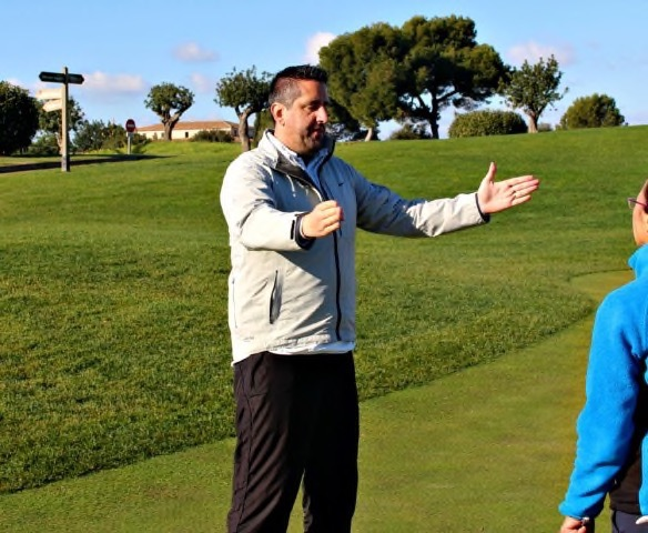 Mike Karl ist Golf Pro auf Mallorca