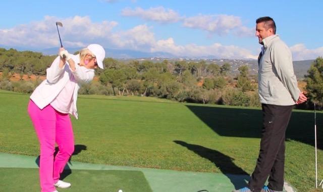 Trainerstunde mit dem Golf Pro