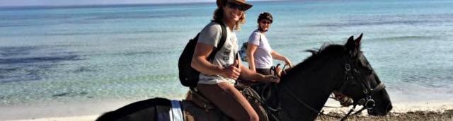 Reiten auf Mallorcas Es Trenc Strand ist nur ausserhalb der Badesaison erlaubt