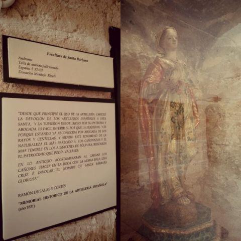 Die heilige Barbara in San Carlos