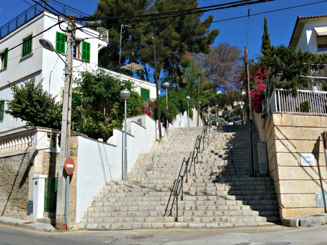 Treppen in Sant Augustin
