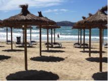 Der Strand von Paguera.