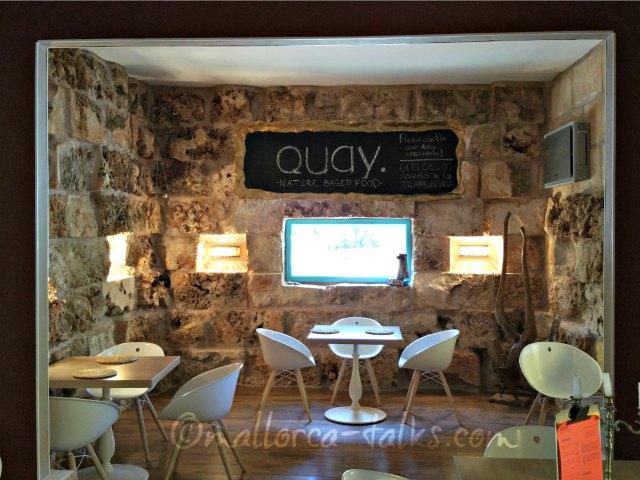Das Restaurant Quay von innen.
