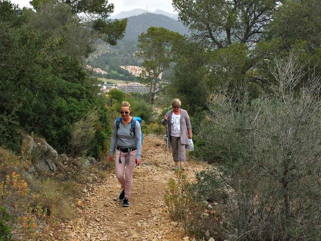 Aufstieg zum Cap Andritxol