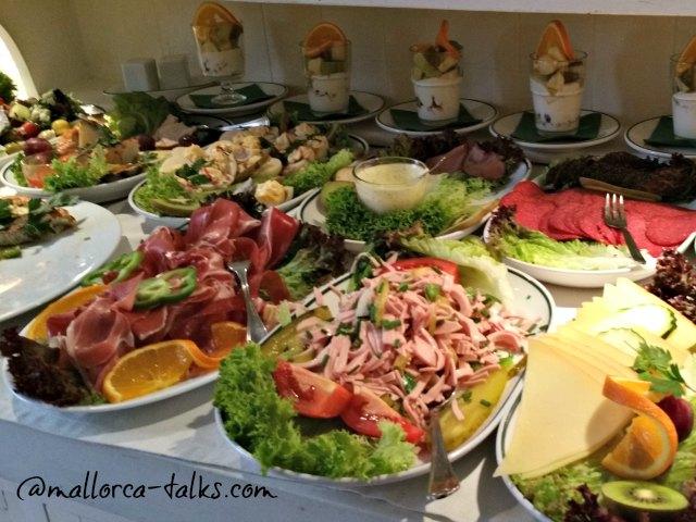 Frühstücken kann man gut in Santanyi