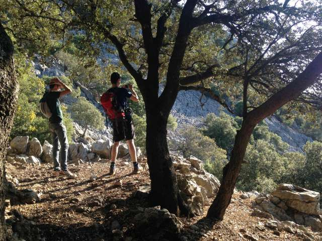 Verschnaufpause im Serra de Tramuntana