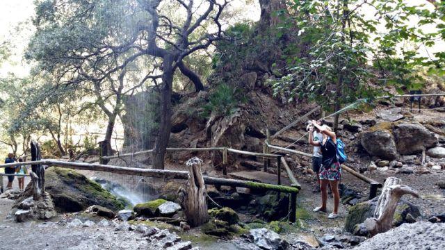 Wasserfall im La Reserva