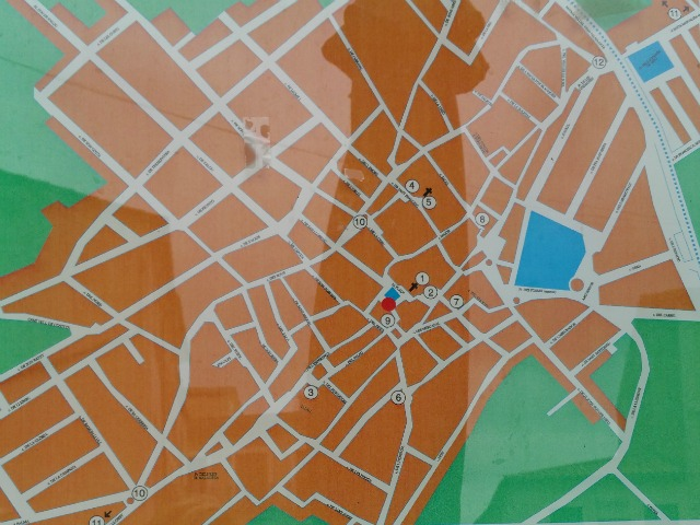 Stadtplan von Sineu
