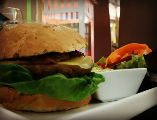Marsim in Palma - gesunde Burger