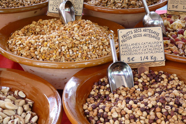 Markt in Soller Nüsse