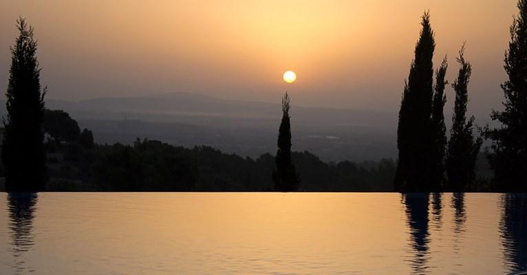 Villa Vegana Esporles Sonnenaufgang