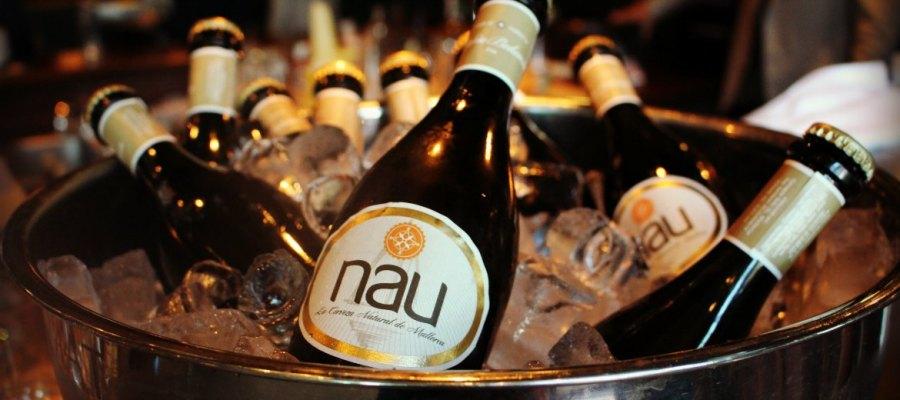 spanisches Bier auf Mallorca