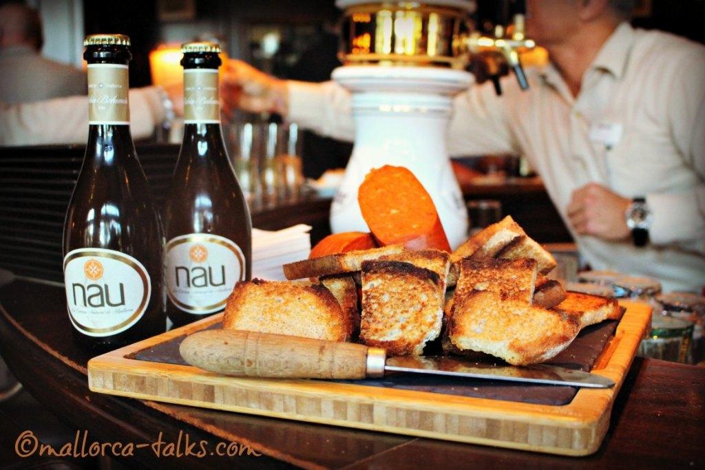 spanisches Bier: NAU Cerveza Natural Mallorca