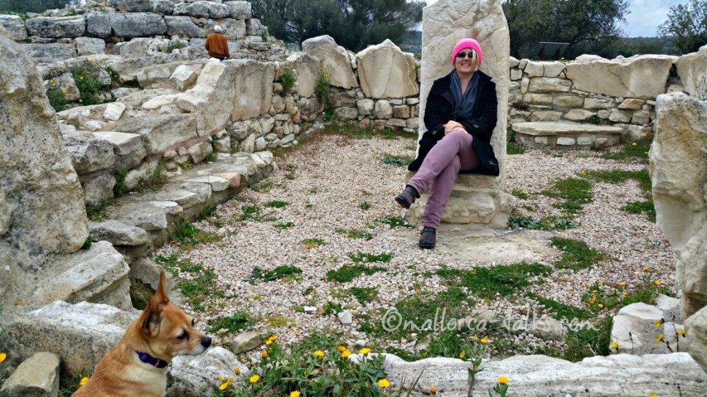 Barbara von Mallorcatalks liebt Ausgrabungsstätten wie Son Fornes