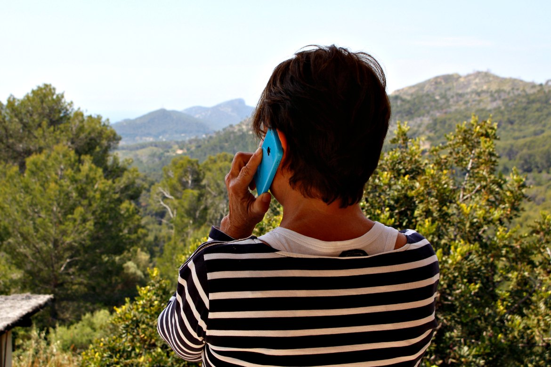 Das Büro von Trudi bei Gaia Natural Mallorca