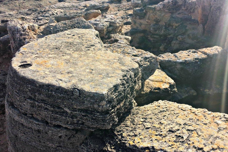 Navettenförmiges Grab Nekropole Mallorca