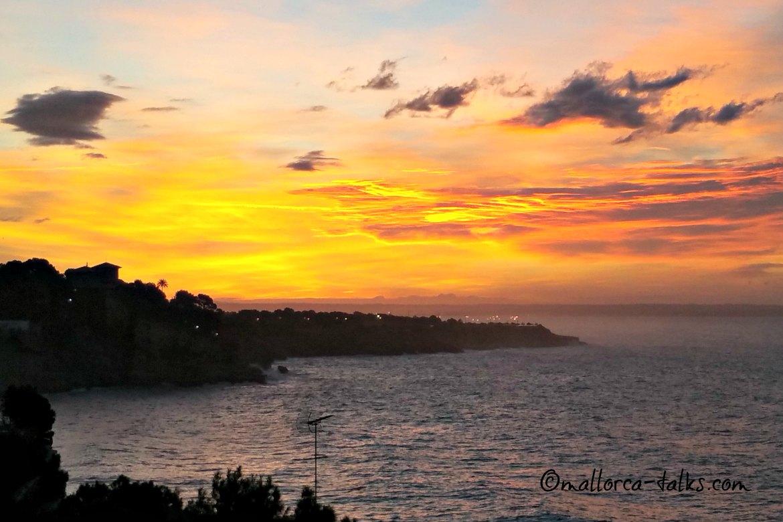 Schöner HImmel über Mallorca