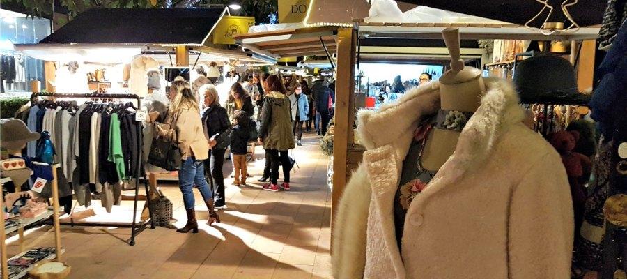 Weihnachtsmarkt Puerto Portals Pelz