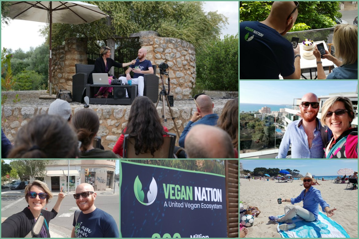 Mallorca Talks to VeganNation at Villa Vegana Selva
