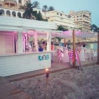 Neue Beach Bar in Cala Major