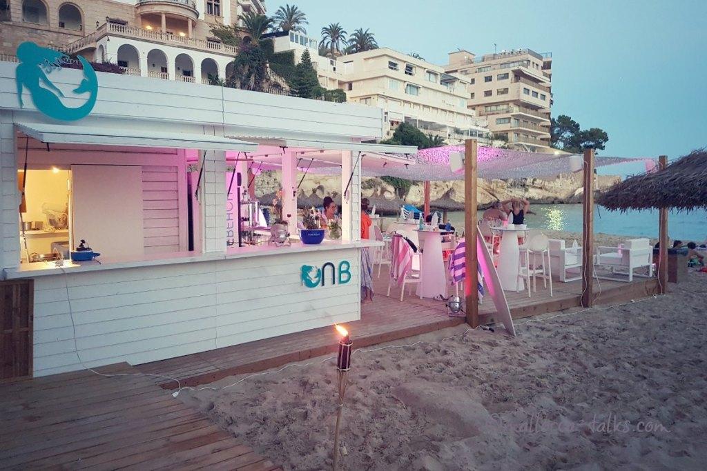 Beachbar Nixe in Cala Major