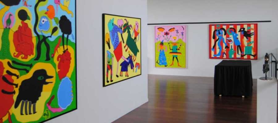 Centre Cap Vermell Ausstellung Gustavo