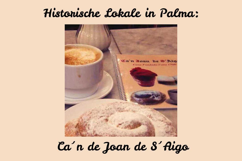 Historische Lokal Can Joan de S Aigo