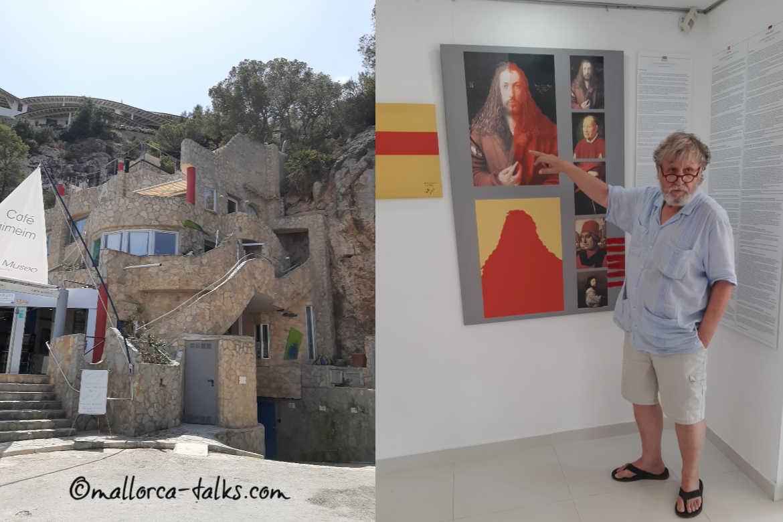 Das Liedtke-Museum und der Künstler selbst - Foto Mallorca Talks