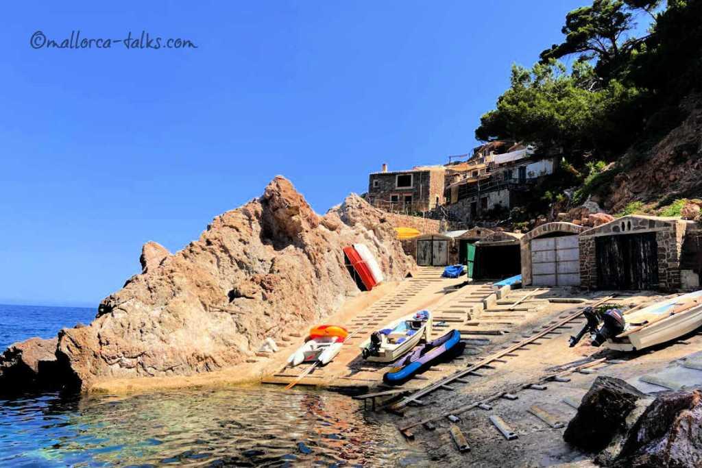 S´Estaca Dorf Badehaus Sissi Mallorca Talks