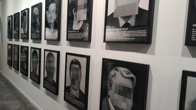 Resultat d'imatges de arco presos politicos