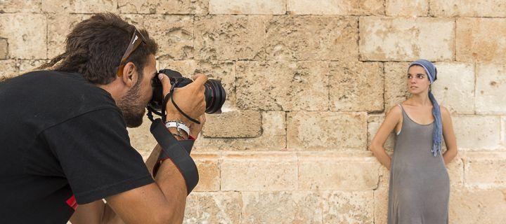 Taller de fotografía de retrato en Mallorca Fotográfica