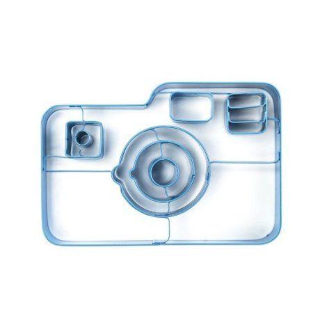 Molde de calletas forma camara de fotos