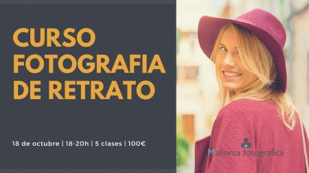 Curso de fotografía de Retrato Mallorca Fotográfica