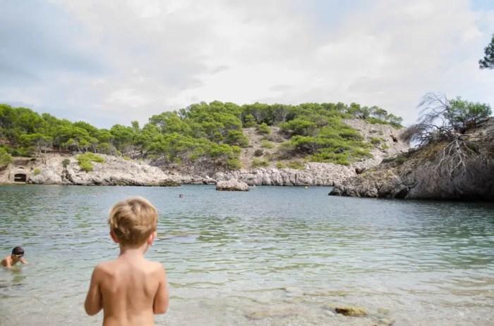 Calo d'en Monjo Calvia Mallorca
