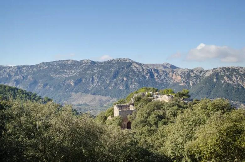 Wandern mit Kindern auf Mallorca: Castell Burg von Alaró