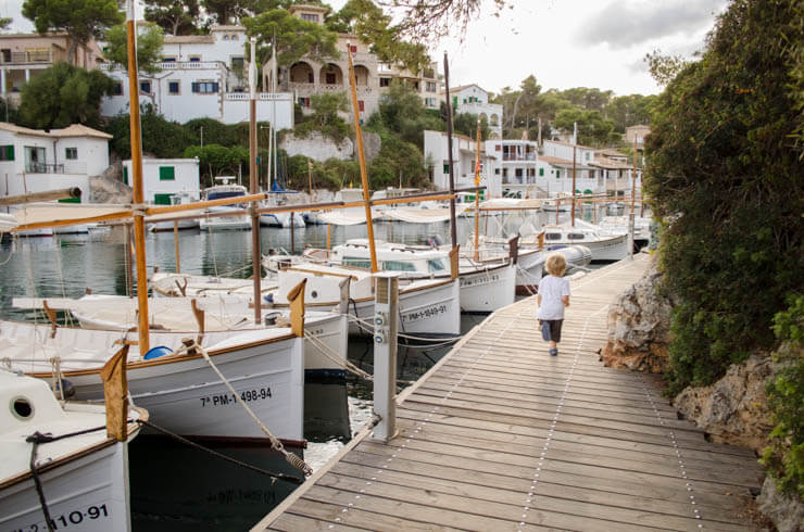 Cala Figuera - Santanyi Mallorca mit Kindern