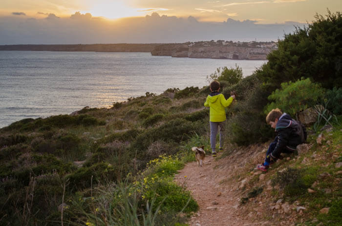 Wandern mit Kindern auf Mallorca: Cala Figuera