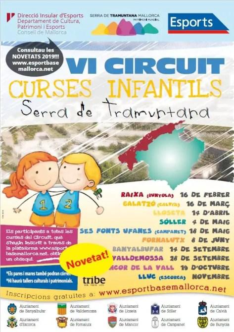 Kurzstrecken Rennen für Kinder auf Mallorca