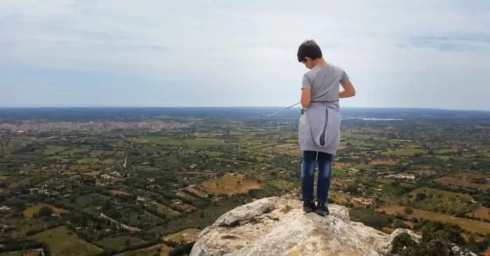Wandern in Llucmajor: Der Hexenberg Puig de Ses Bruixes