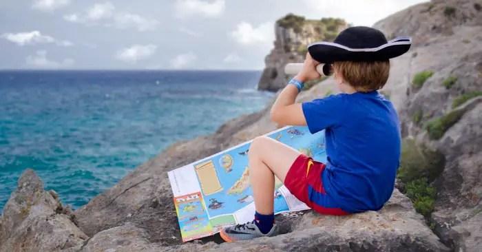 Mallorca Entdeckerkarte für Kinder Reiseführer
